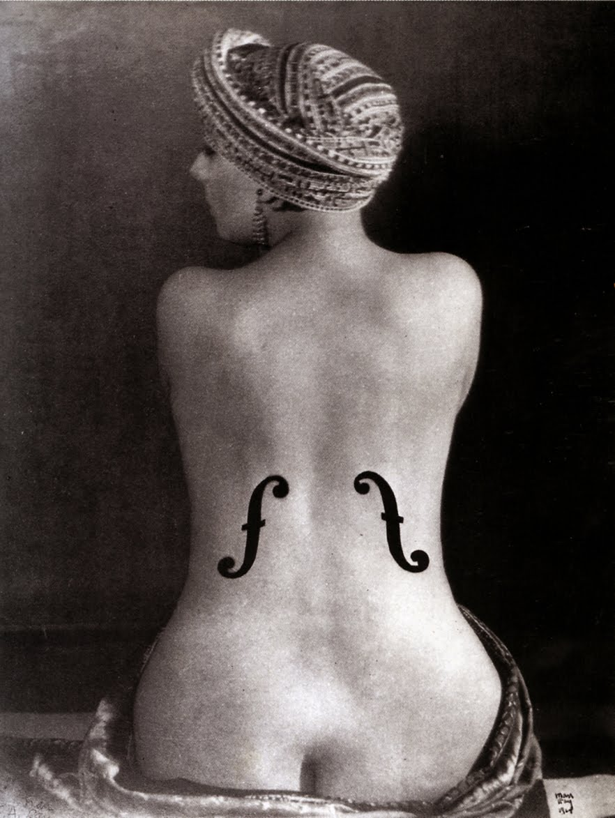 "Man Ray, ""Ingres's Violin"" (1924)"