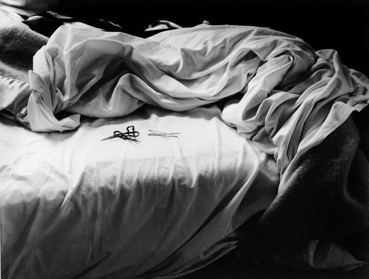 "Imogen Cunningham, ""Unmade Bed"" (1957)"