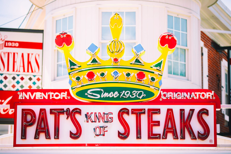 "Thomas Hawk, ""Pat's King of Steaks"" (2018)"