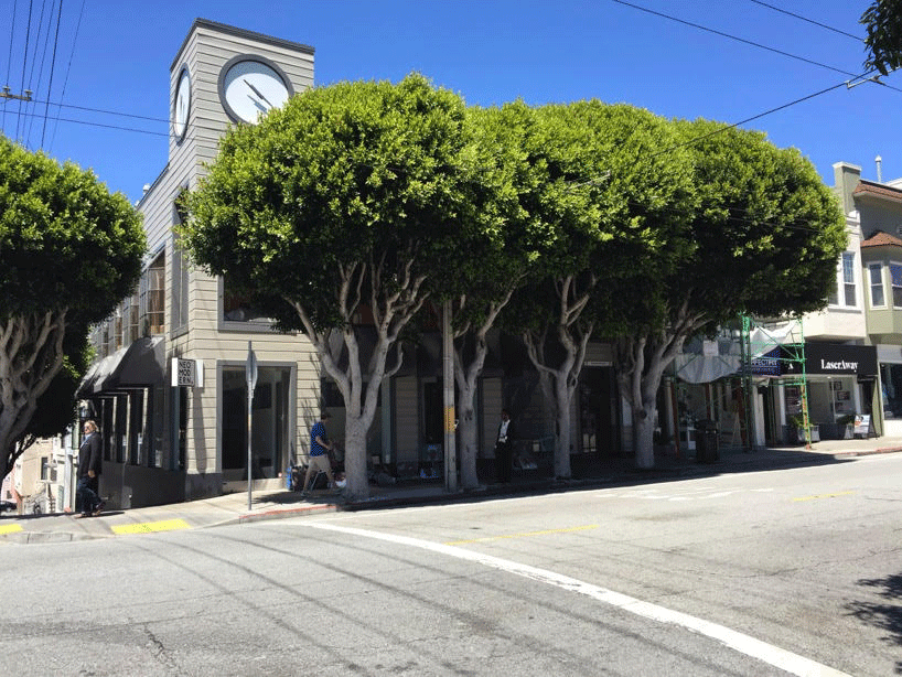 Location - Located in the middle of Cow Hollow across from Starbucks, and situated among yoga studios, shopping and dining.