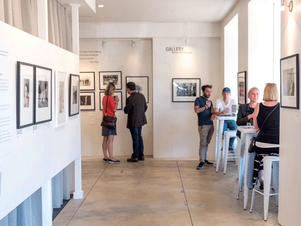 Our gallery - One of San Francisco's hidden gems, our collection is selected from hundreds of modernist photographers—Ansel Adams, Cartier-Bresson, Kertesz, among others. We also showcase our customers' work. Who knows, it could be yours.