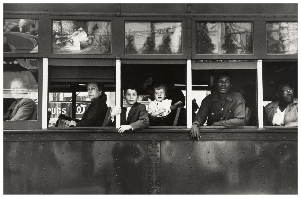 Robert Frank,  Trolly – New Orleans, (1955). From The Americans © Robert Frank