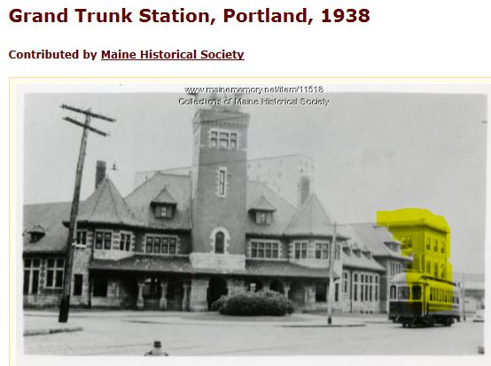 Photo 2-before-Grand Trunk Station building 1938 with 3rd floor.JPG