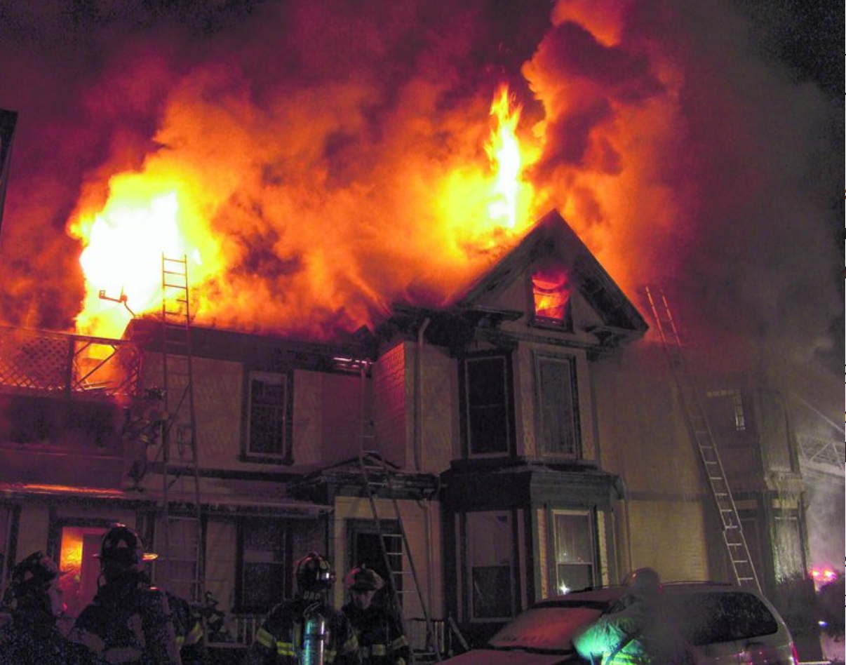 Seavey House on fire.png