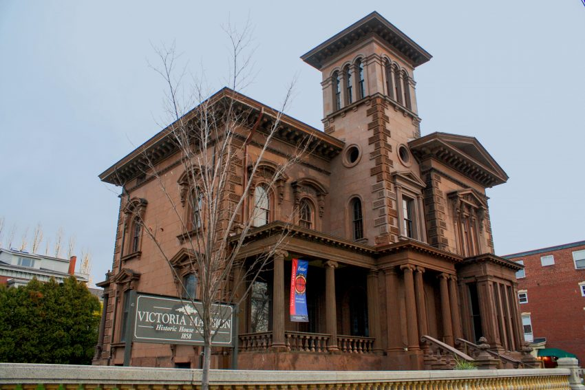 The 1860 Victoria Mansion in Portland