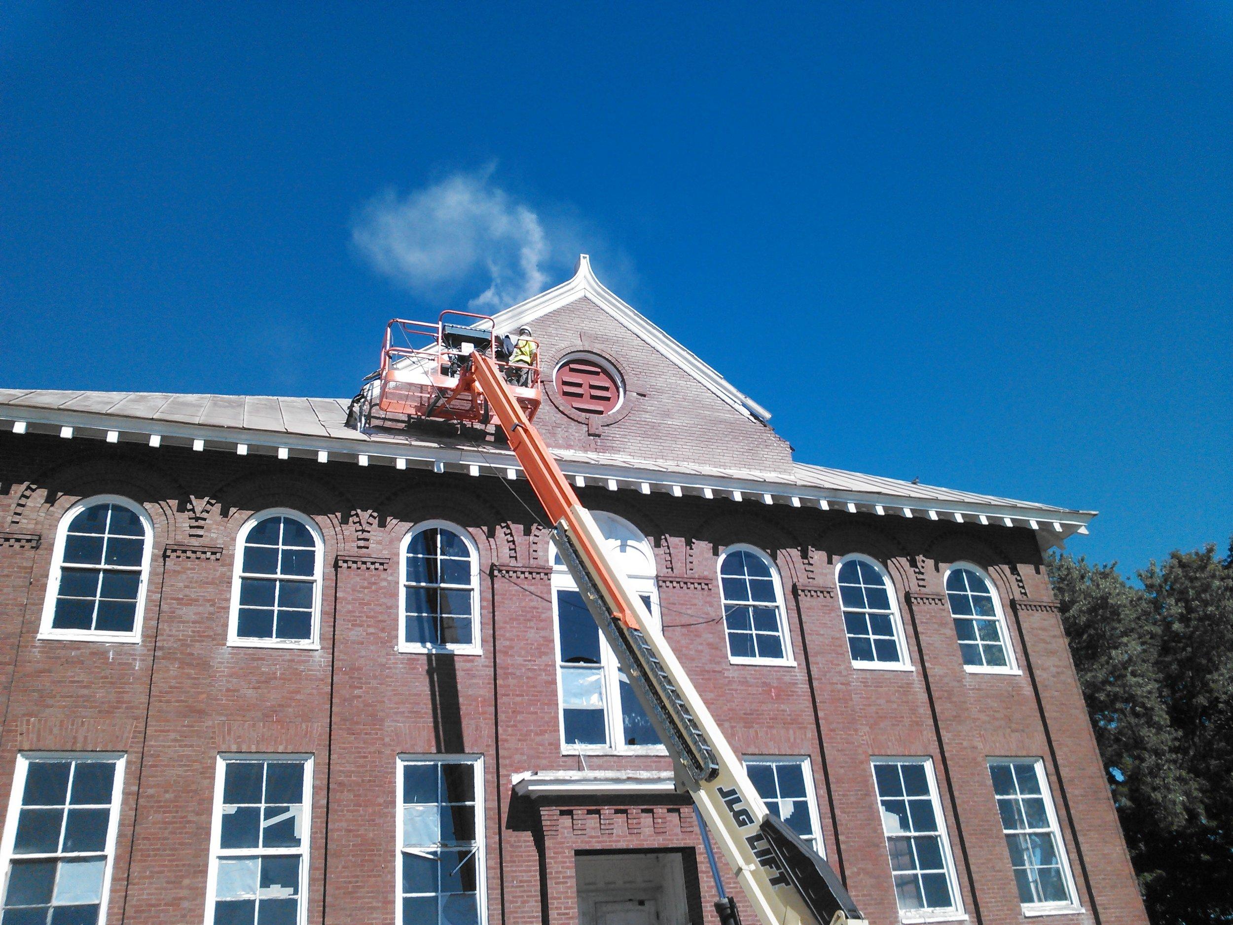 Paragraph 4 - Exterior Restoration Work Before.JPG