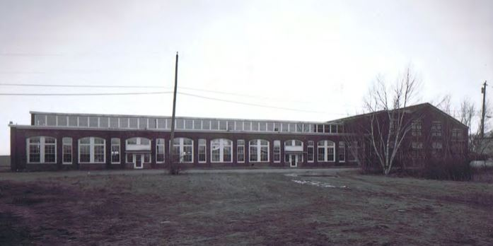 Paragraph 1 - Exterior Facade of Repair Shop and Planing Mill.JPG