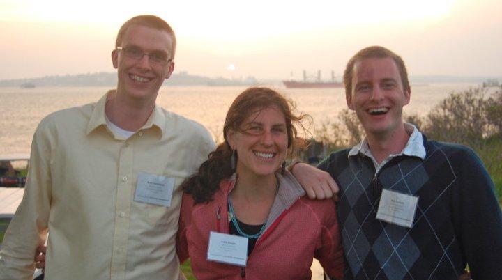 Ryan Carmichael, Callie Jo Douglas, Matt Corbett 2011.jpg