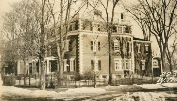 Charles B. Clarke House 1924  Maine Memory Network.JPG