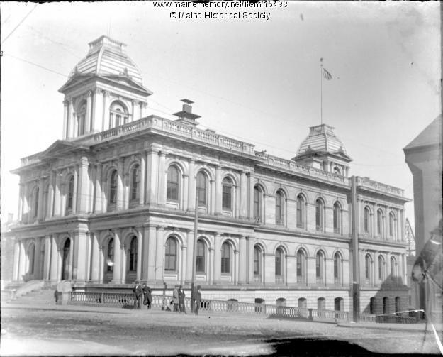 Custom House ca 1900 Maine Historical Society.JPG