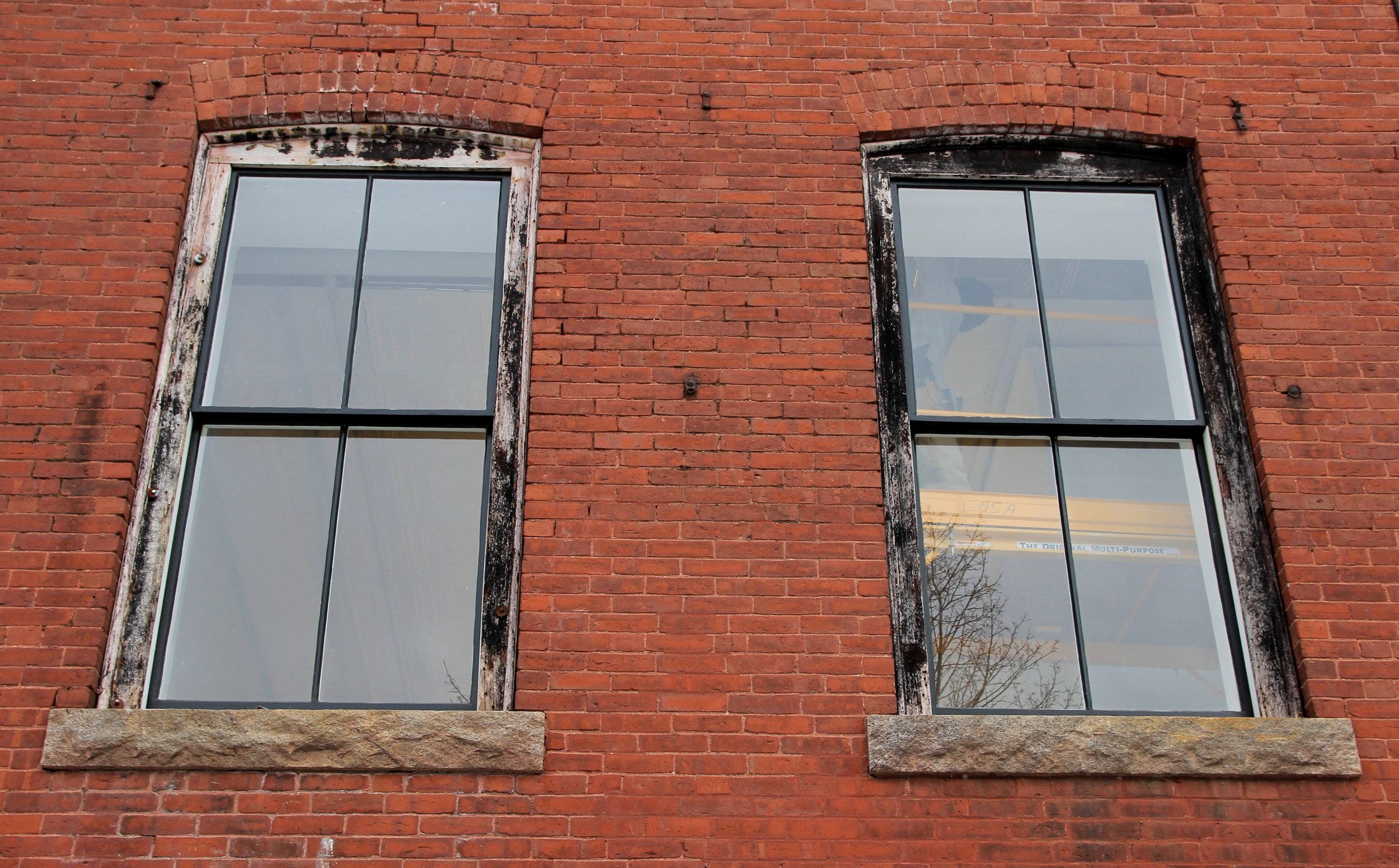 Jan 24 new 1st floor windows, trim will be painted in the Spring.jpg