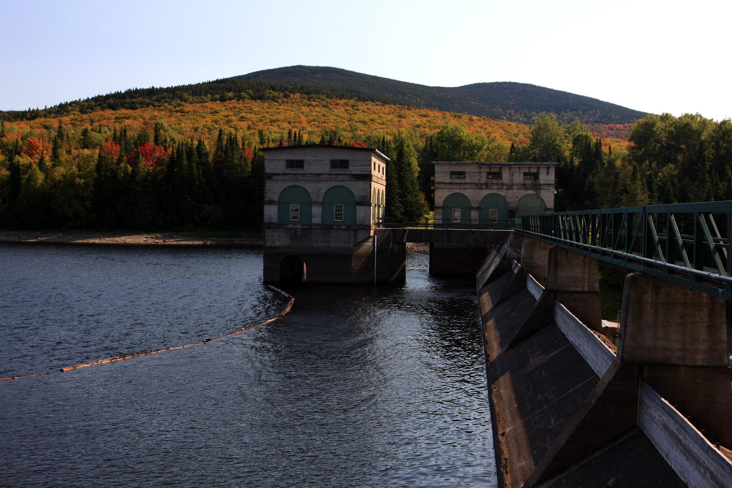 Aziscohos Dam, Lincoln Plantation