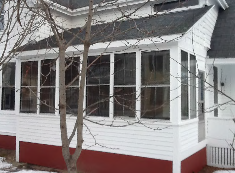 The sun porch, also Bean's smoking room, was added in the 1930's to the southwest corner of home..png