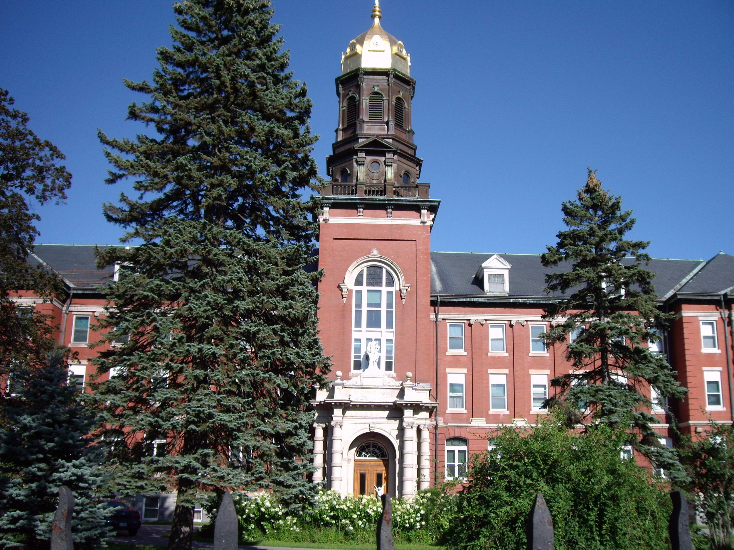 1 Motherhouse exterior front view.JPG