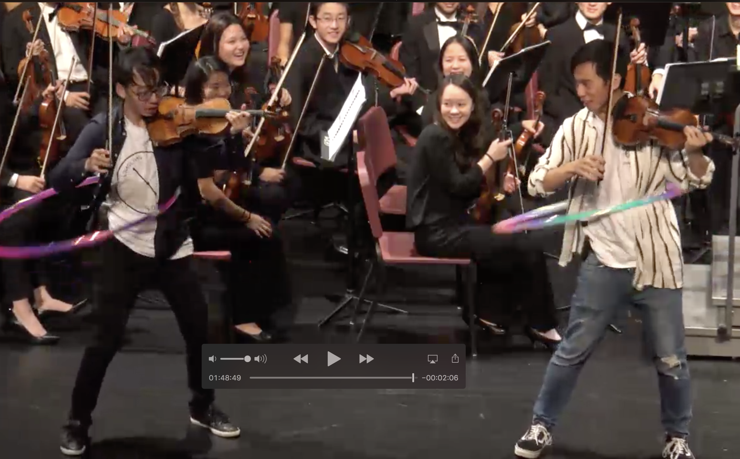 Concert Recording: TwoSet Violin - October 21, 2018