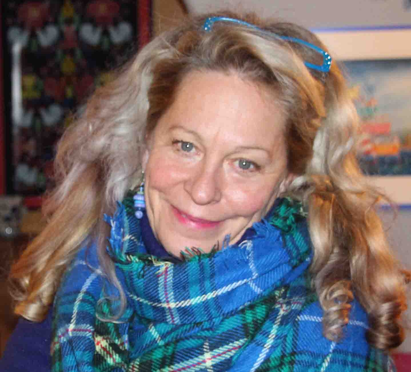 """Sheree Fitch's - first two books,Toes in My Nose(1987) and Sleeping Dragons All Around(1989), launched her career as a poet, rhymster, and a """"kind of Canadian female Dr. Seuss."""" Fitch has won almost every major award for Canadian children's literature since then, including the 2000 Vicky Metcalf Award for a Body of Work Inspirational to Canadian Children. She has over twenty-five books to her credit, including her bestselling and critically praised adult novel,Kiss the Joy As It Flies(2008). Fitch lives in River John, Nova Scotia, where in July 2017 she opened Mable Murple's Book Shoppe and Dreamery, a one-of-a-kind bookstore and literary venue."""