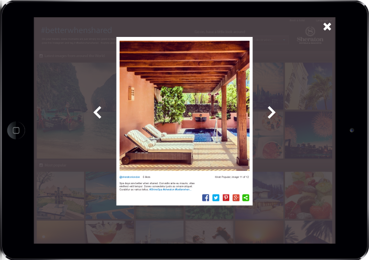 Mock ups were created for tablet and mobile to give the dev team a clear vision of expectations.