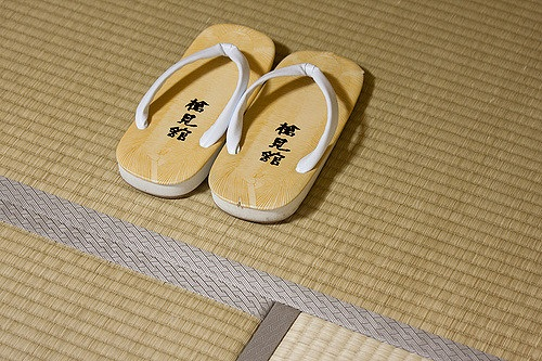 A picture of tatami. Credit: Edward Dalmulder/Creative Commons.