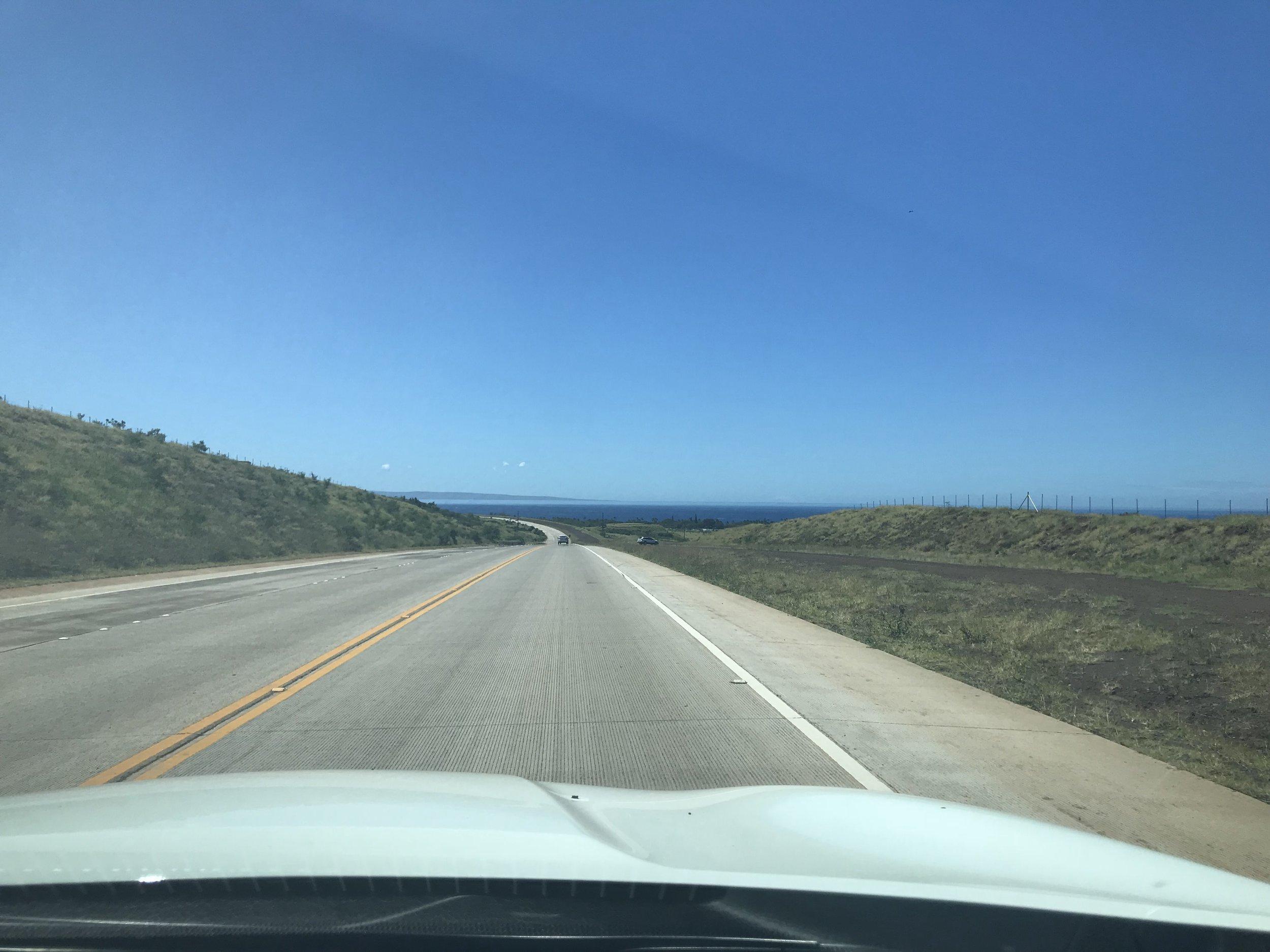 On Honoapiilani Highway.