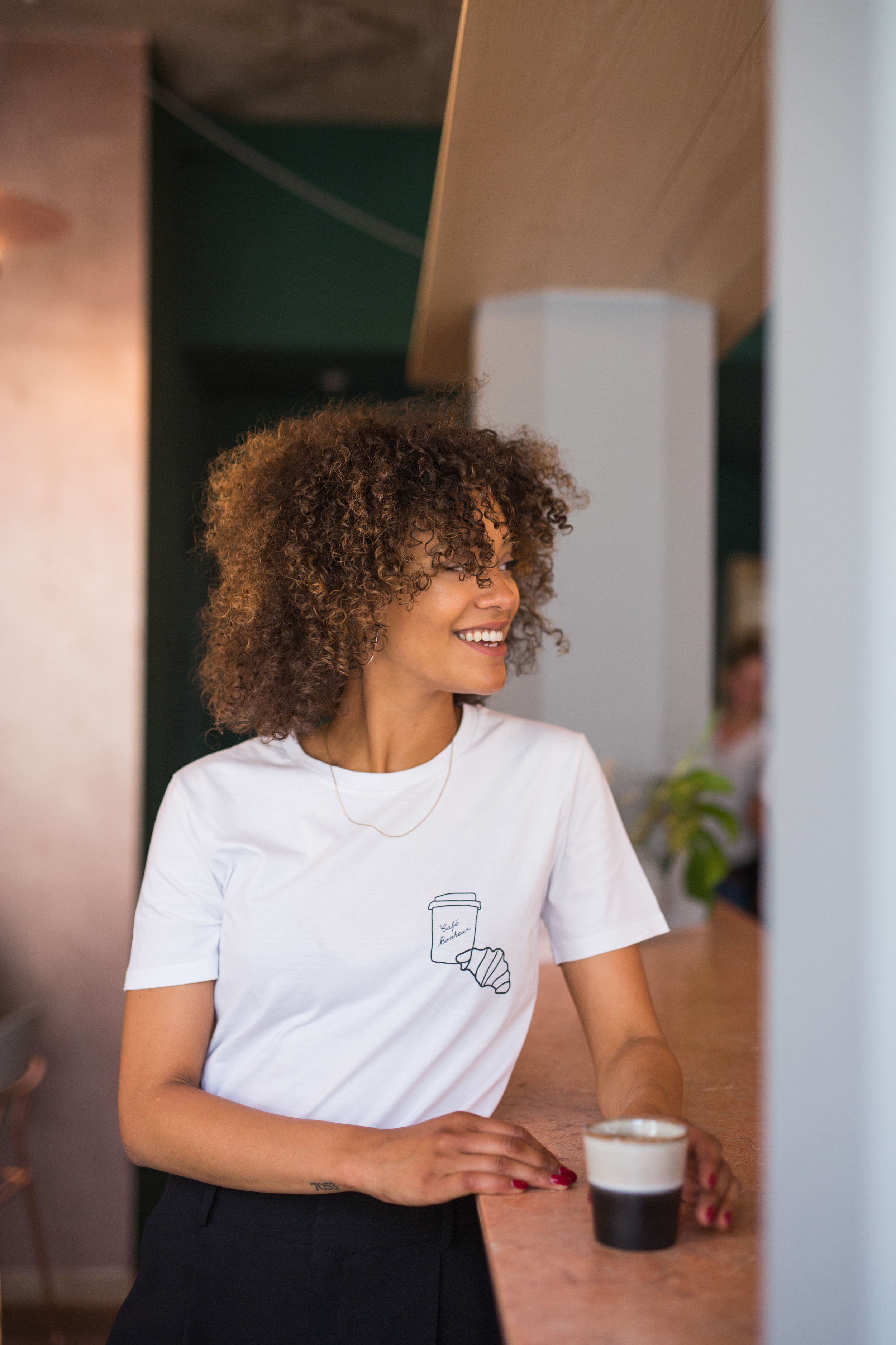 OUR T-SHIRTS  Oh how we love a good old elevated classic! The brand's main focus is on  design, aesthetics and quality . The t-shirts are  thick and soft . The prints are  eco-friendly and durable . We use 100%  organic cotton.   They are unisex, hand-illustrated and produced in limited quantities. Discover our newest pieces in the t-shirt section.