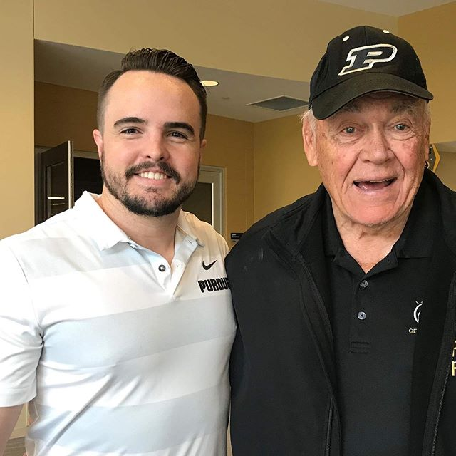 Life Update! _________ 1) I completed my first full year at the Indiana University McKinney School of Law!  _________ 2) I accepted a position with the Purdue Athletics Department's Office of Strategic Initiatives, where I get to interact with legends like Gene Keady! _________ 3) I finally got a haircut! _________ #BoilerUp