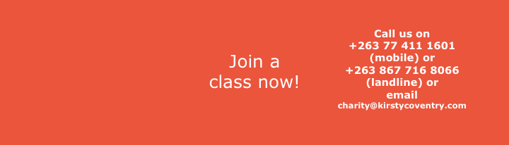 Join a swimming class! .-