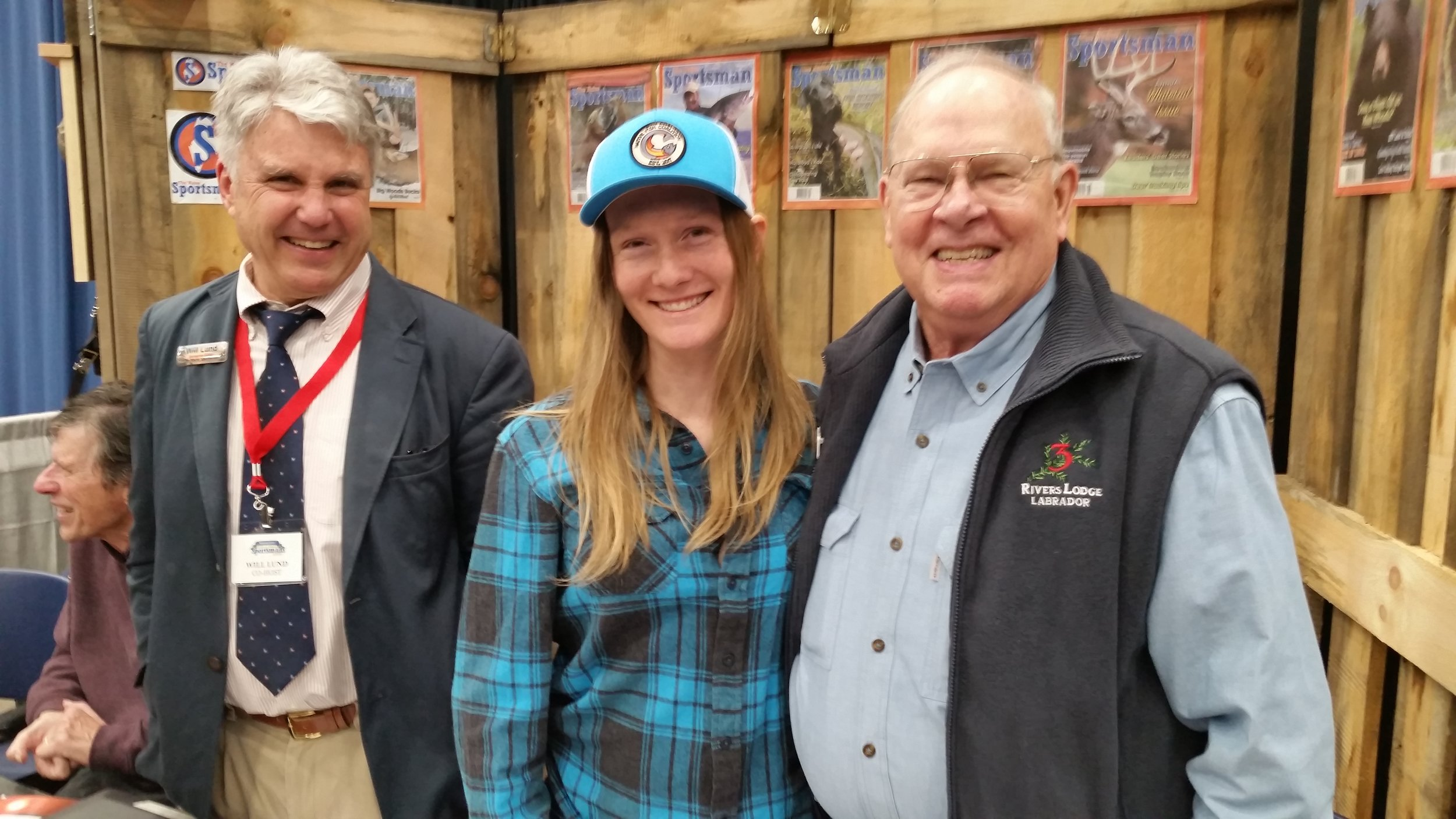 Will Lund The Maine Sportsman, Emily Bastian ME NFC, writer King Montgomery