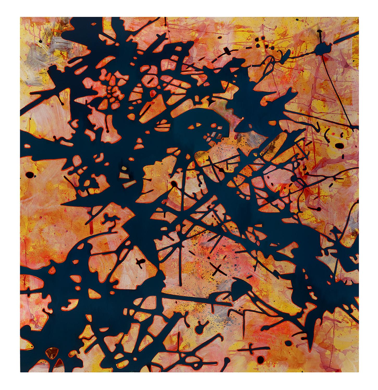2019- Painting- Orange, Yellow