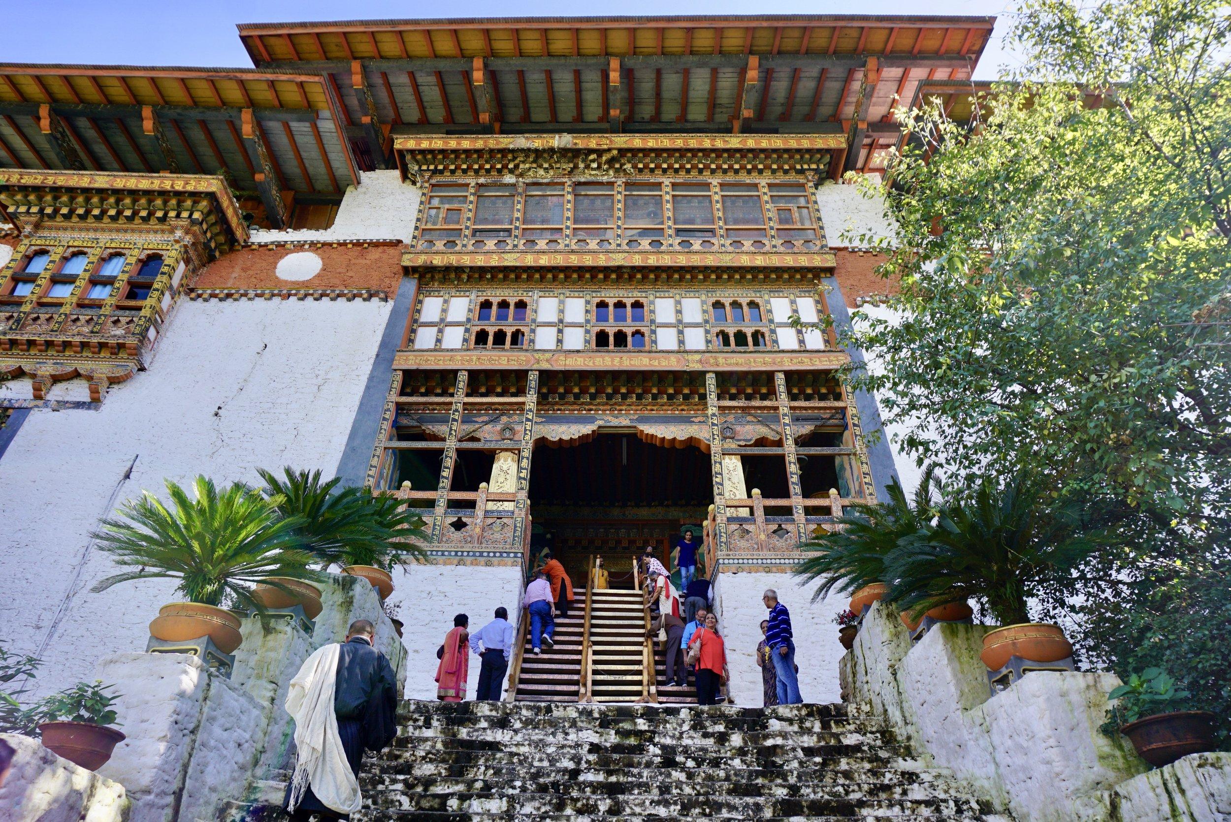 Punakha Dzong entrance.jpeg