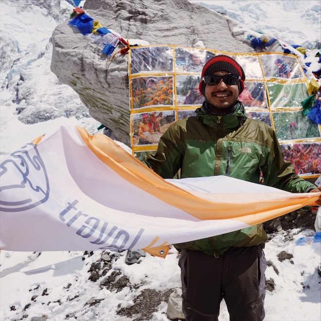 Nirmal L. | EBC Trekking Guide - Namaste! I am Nirmal and I am from Gorkha, Nepal. I became a tour guide 5 years ago. I love my job because every day is different. I am proud to share the history and culture of my country and I am always excited to show first time travelers their way around. As a tour guide, 'work' means being a part of someone's happiest holiday memories. I am actually required to have fun for a living while traveling! My favorite trek is Manaslu and Tsum Valley, and my favorite food is Dal Bhat!