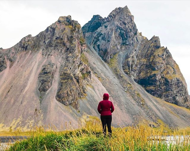 #travelherway | @hill.gabriella • This photo captures exactly what we feel before we climb or hike something. It's so easy to get tempted by the summit but what if for every mountain we climbed, we stopped at the base and really simply admired it for an appropriate amount of time? Our appreciation for our planet might just grow... • •