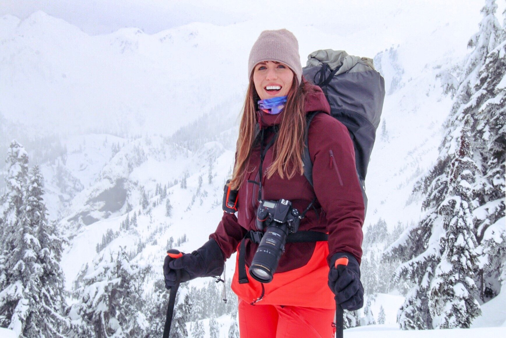 Meghan Young | GROUP experience LEADER April'19 EBC TREK - Hi, I'm Meghan! I'm a Seattle-based photographer and writer with a focus on stories centered around outdoor adventure, human-powered travel, and the deep connections inspired by wild places in cultures across the globe. I have traversed thousands of miles in the backcountry and beyond with my camera in hand, tackling technical terrain with a high level of energy despite inclement weather, wildlife encounters, heat stroke, and more. I also teach outdoor skills clinics for PNW Outdoor Women, a community-based group for outdoor adventurists I co-founded in 2015.When I'm not on assignment, you can find me dabbling in watercolors, writing haikus, and attempting to snuggle every puppy I meet.