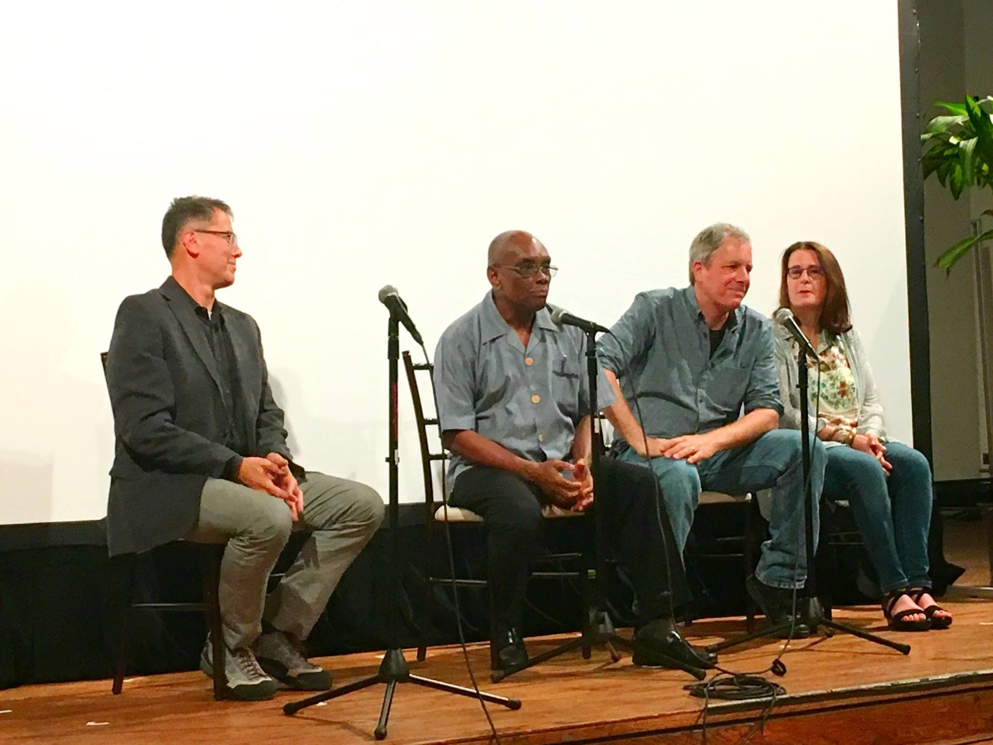 Q&A Session with Andy Gale, Board Chair of Raising Haiti Foundation, Father Joseph, Jeffrey (director/producer) Kaufman, and Marcia S. Ross (producer).