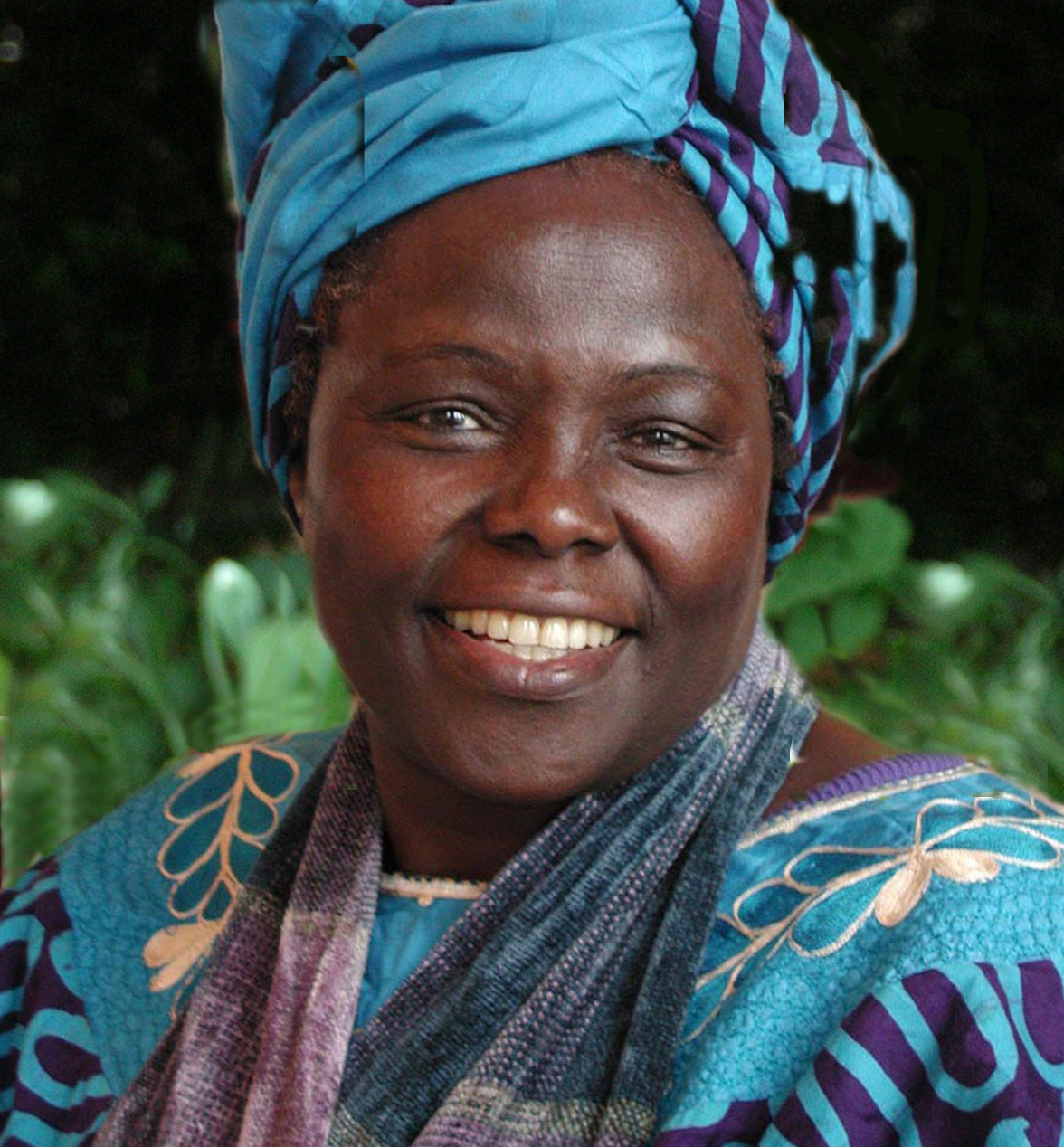 - Dr. Wangari Maathai, Nobel Peace Prize Laureate from Kenya who rallied thousands of women to plant trees. Her vision grew into a nationwide movement to safeguard the environment, protect human rights, and defend democracy.Photo Credit: Martin Rowe
