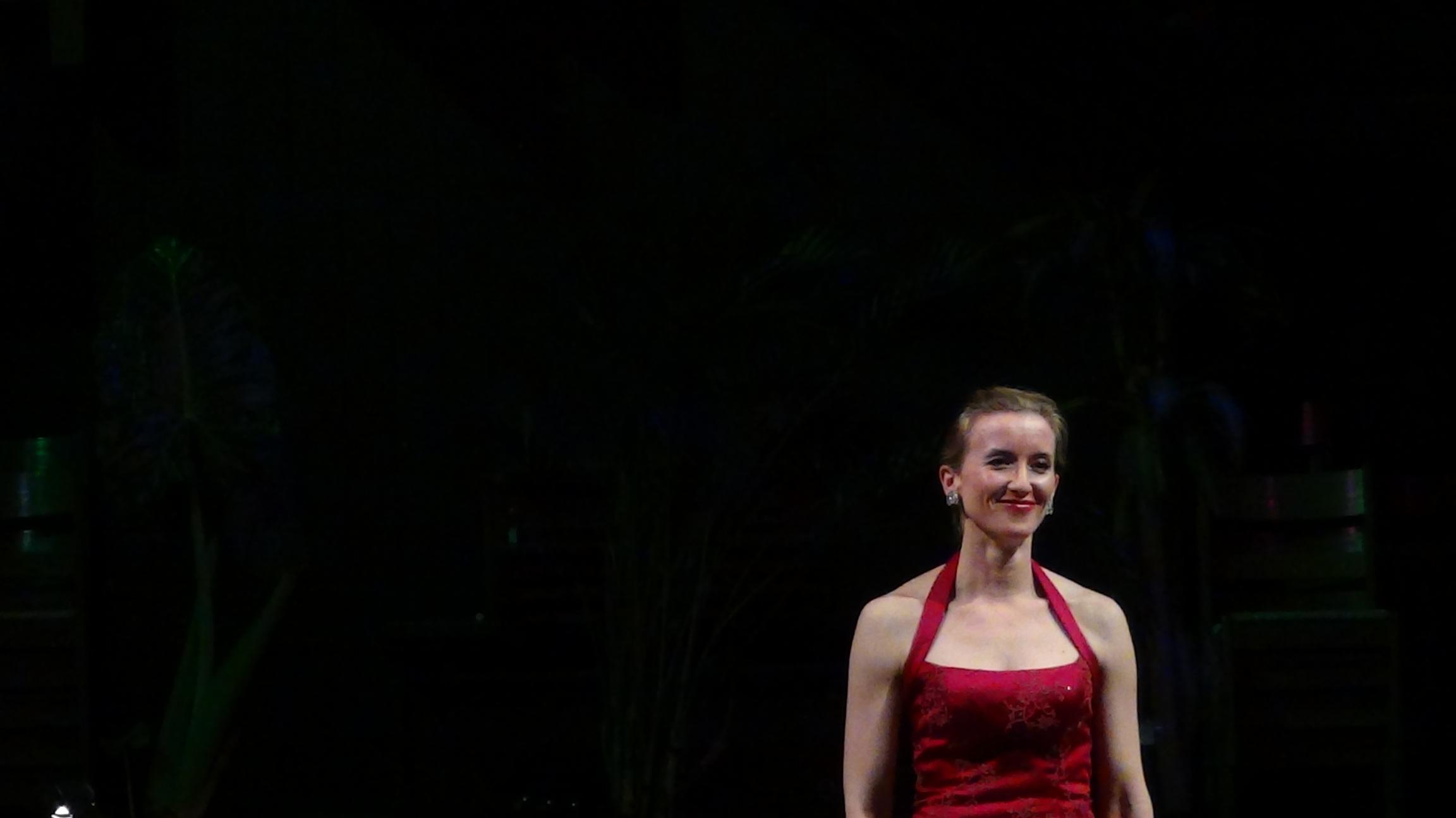 "Jeanai LaVita, soprano, performing ""Bachians Brasileiras"" by Heitor-Villa-Lobos with her husband Giacomo LaVita on the guitar."