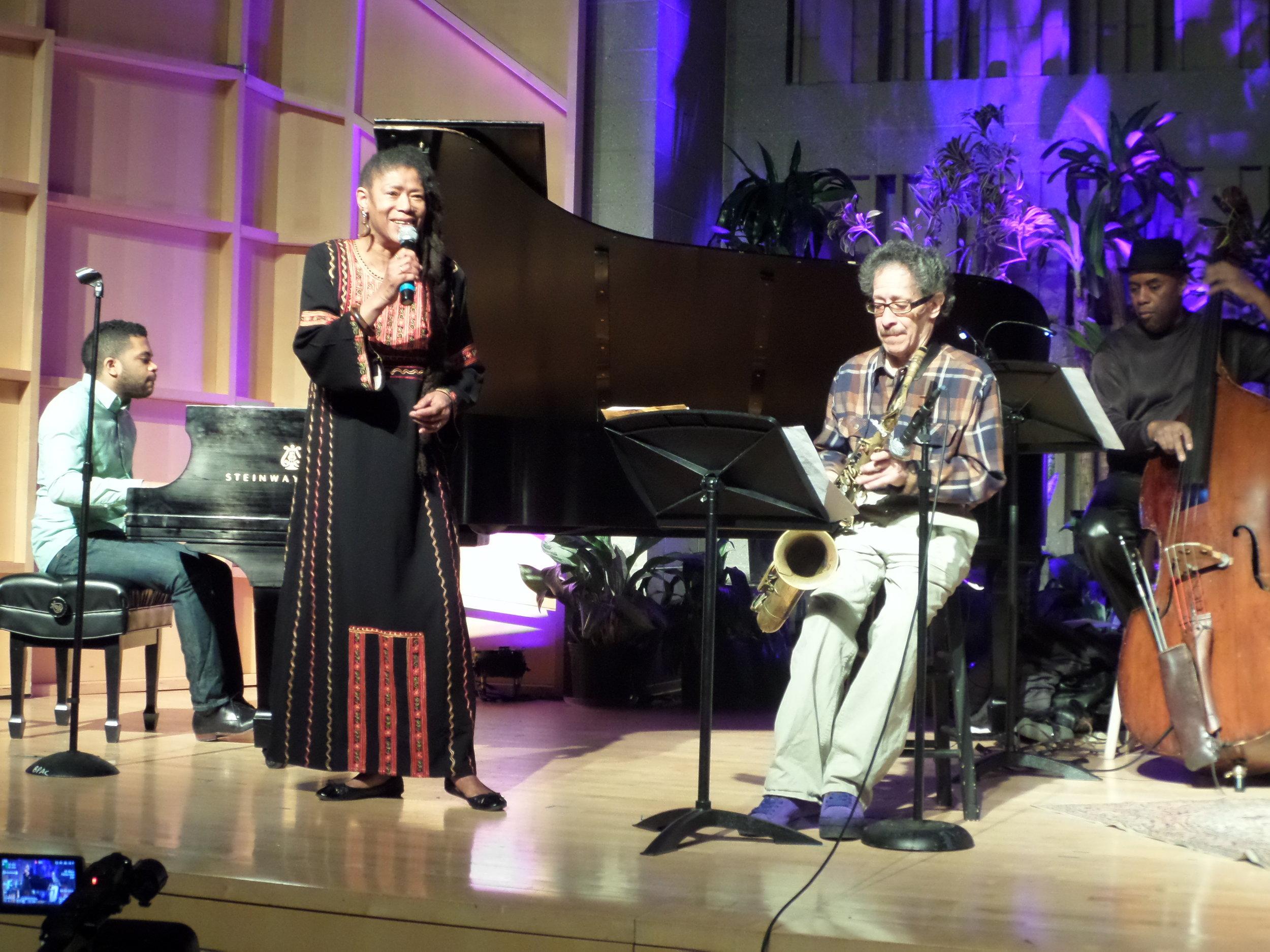 Festival 2015 Opening Night Kick-Off • David Schnitter Jazz Quintet with Vocalist, Marti Mabin.
