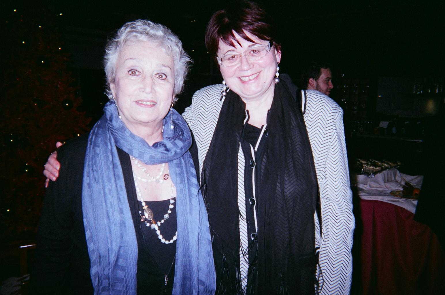 Giovanna Lomazzi and Danusa Lukniso
