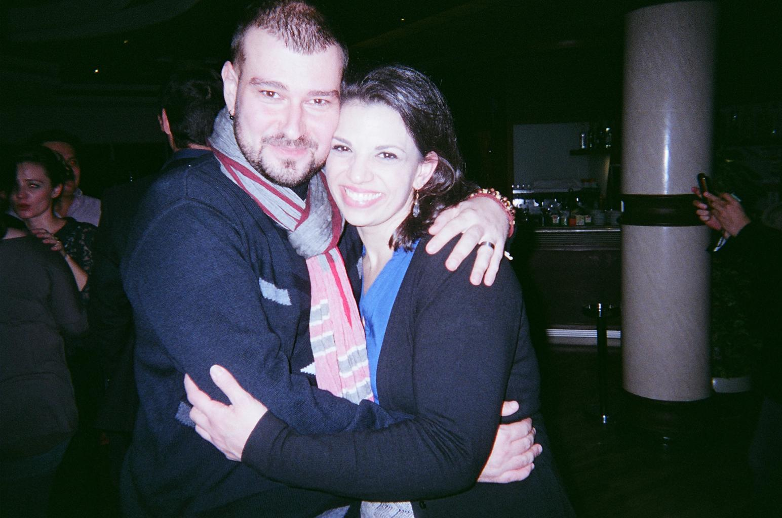 Ivo Yordanov and Jessica Rose Cambio