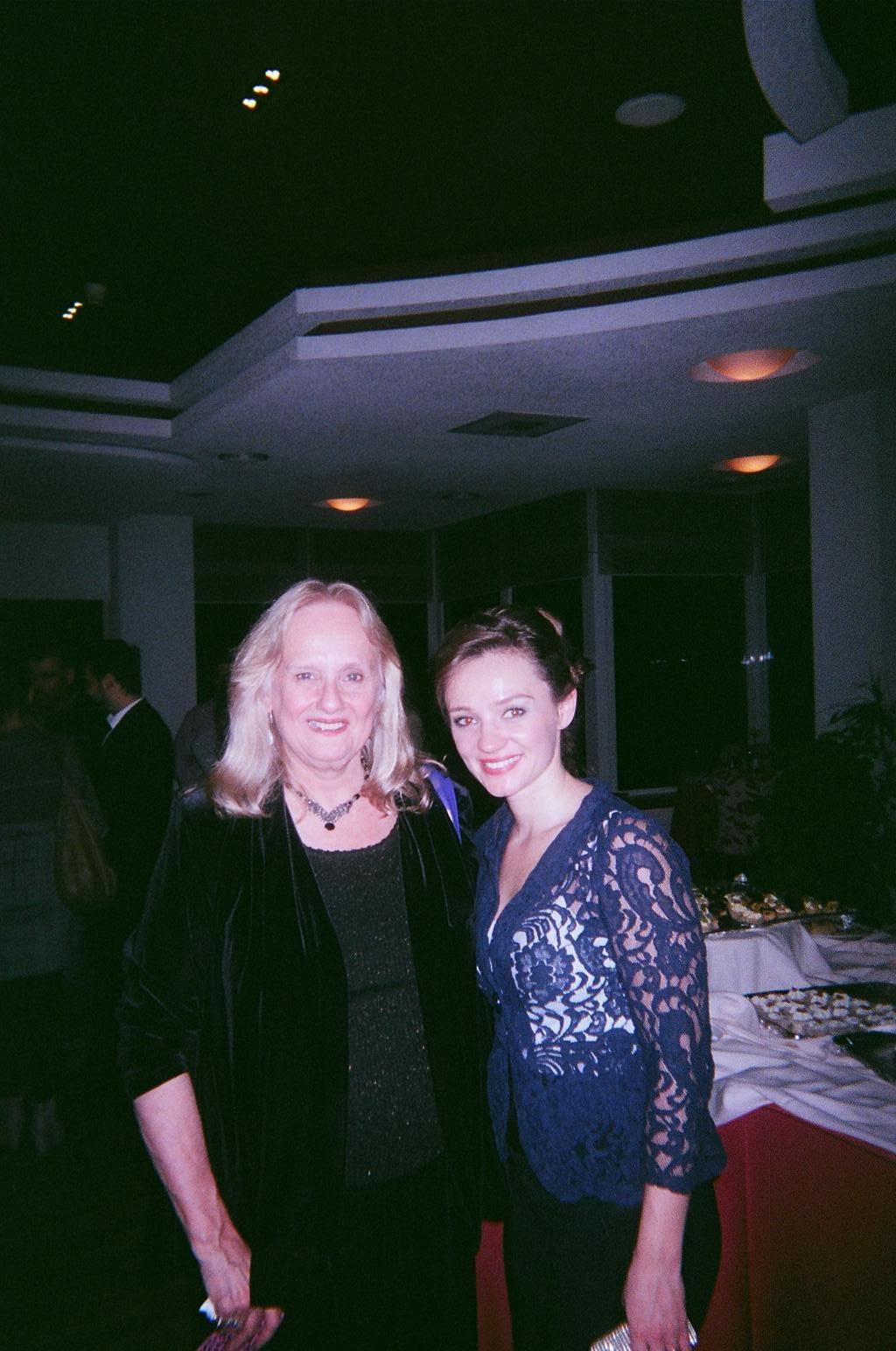 Nancy Rhodes and Enkeleda Kamani