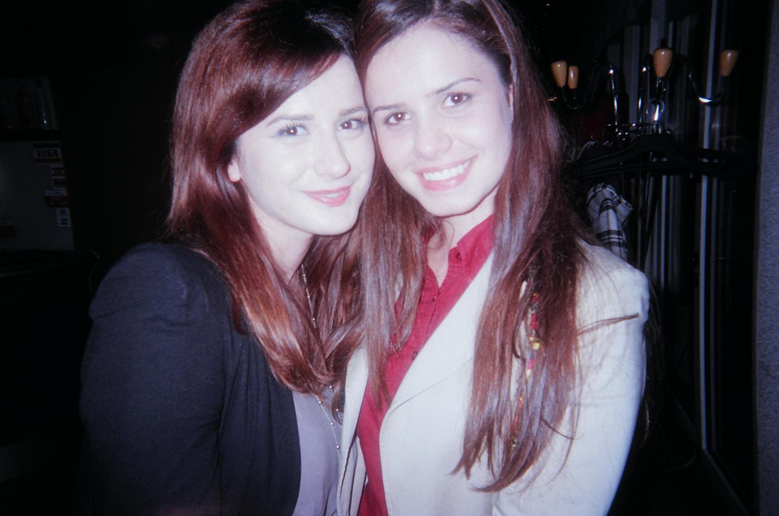 Two female singers at Marie Kraja 2013