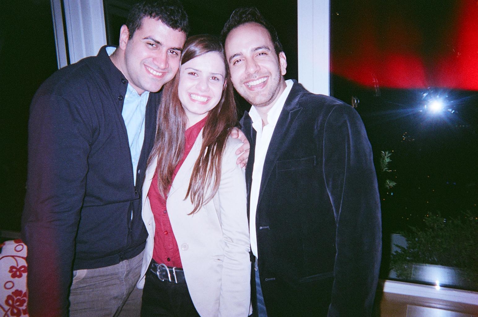 Dario di Vietri, Jose Rubio and female translator.JPG