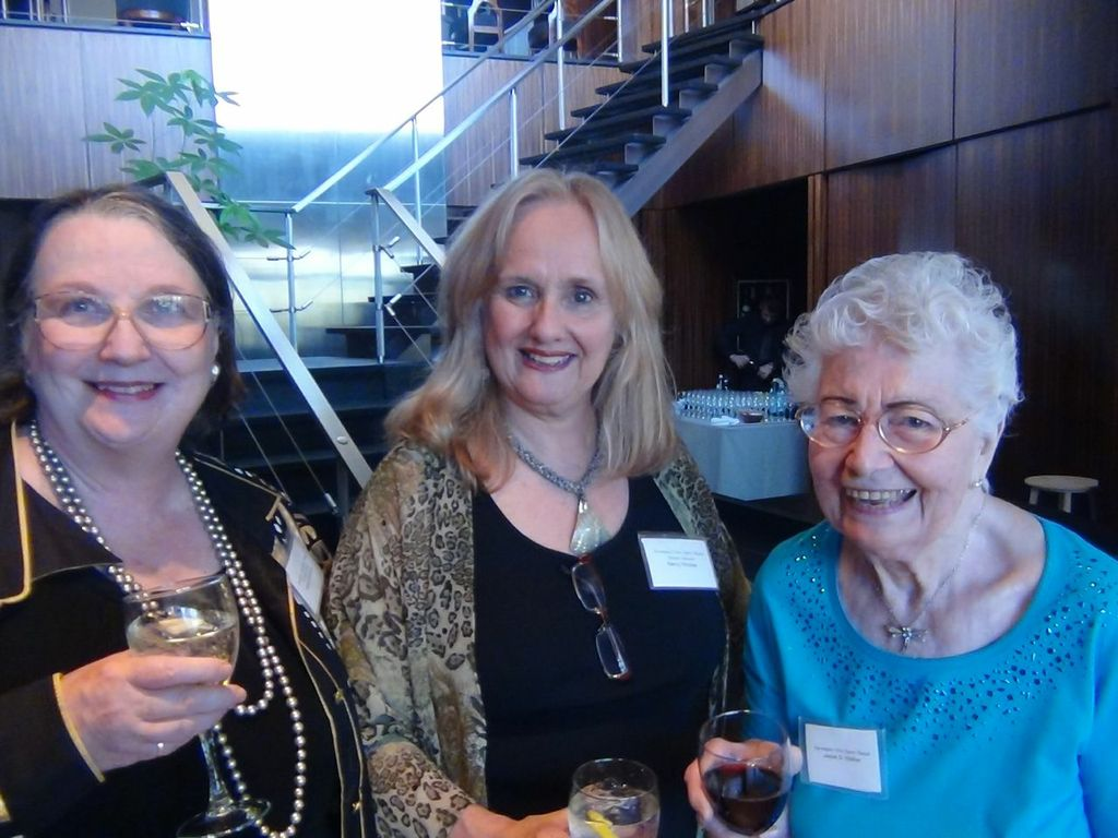 Barbara Eubanks, Nancy Rhodes, & Guest