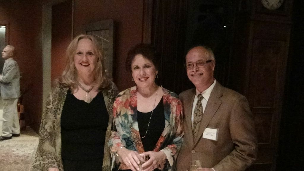 Nancy Rhodes, Judy Kaye, & Daniel DeSiena