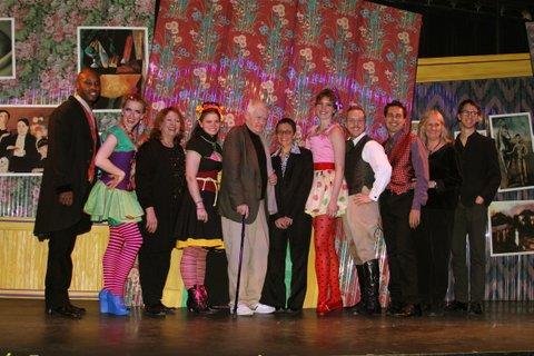 Ned Rorem (center) with Cast/Artistic team