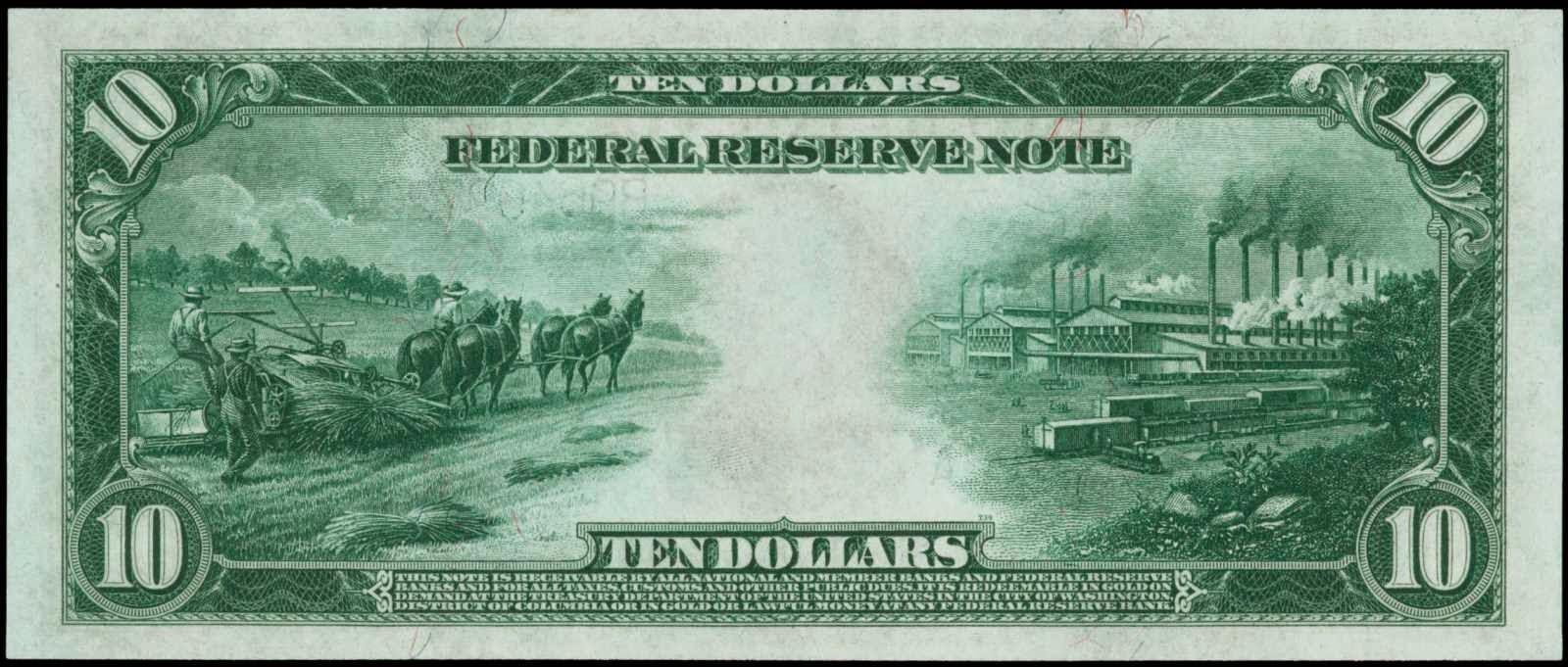 1914 $10 Federal Reserve Note.JPG