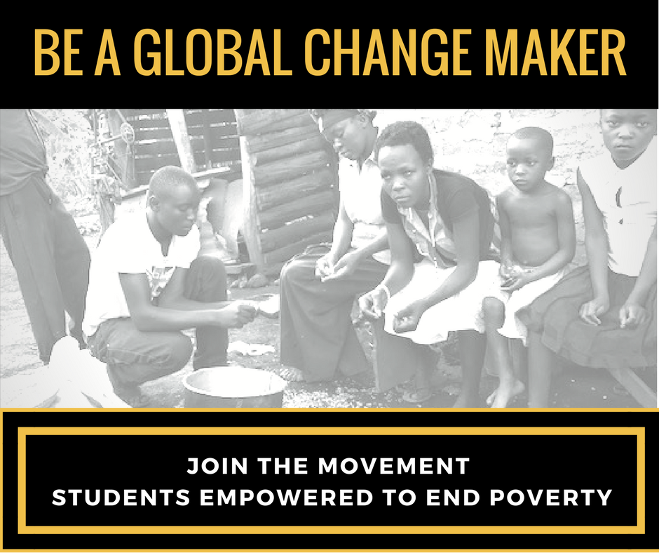 STUDENTS EMPOWERED to END POVERTY -