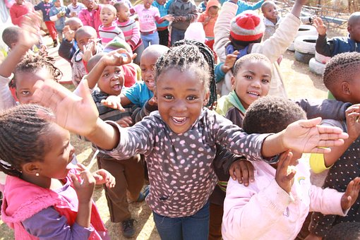 Children in Soweto