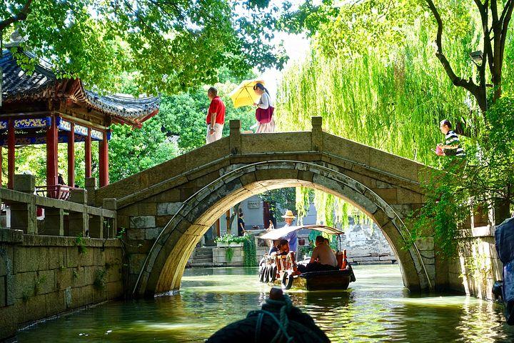 Suzhou Bridge Canal