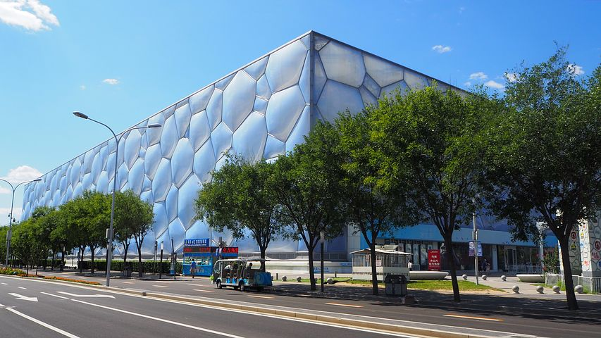 China's Olympic venues, Water Cube