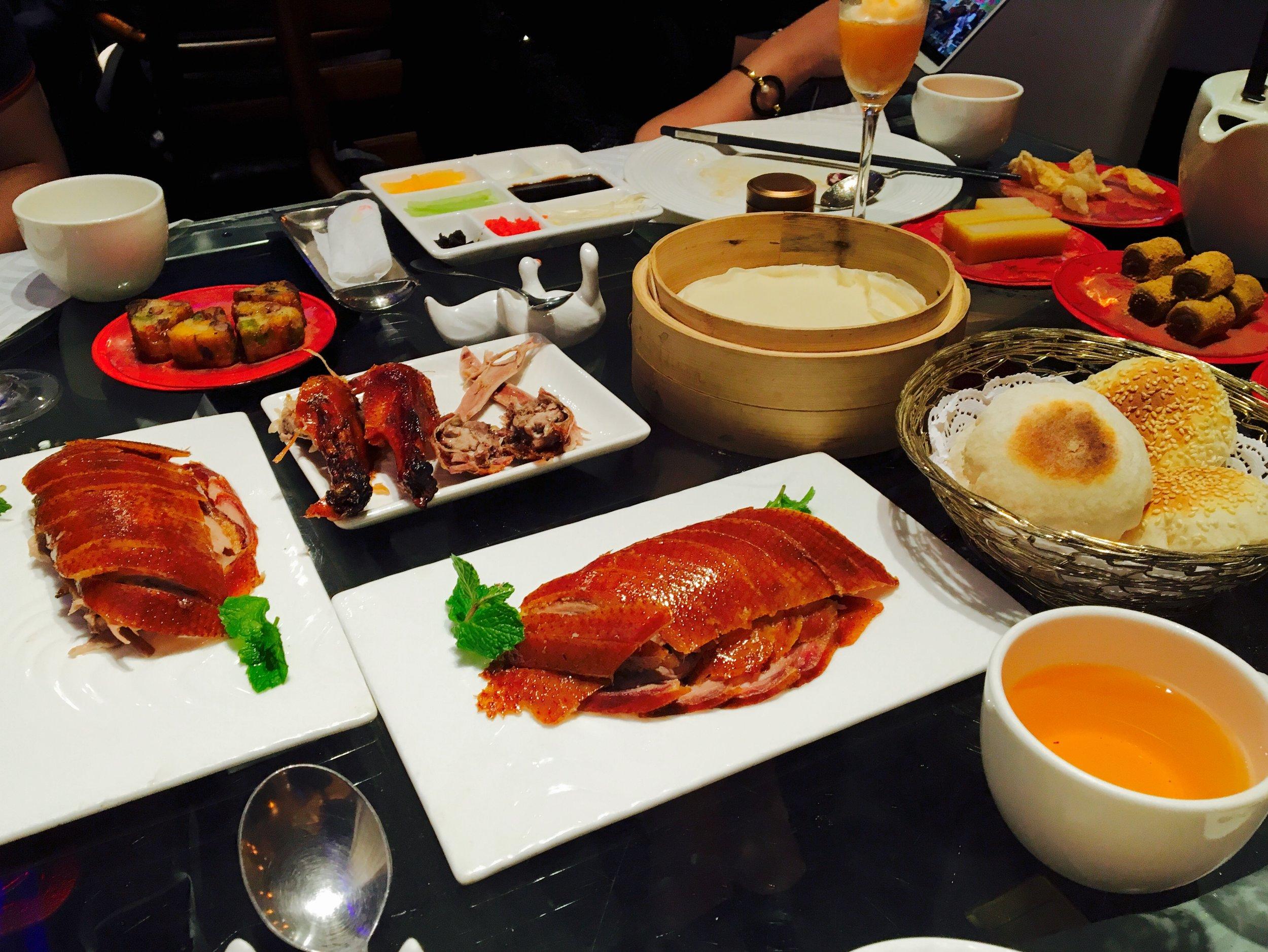 Peking Duck Dinner - photos c/o wikipedia